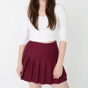 "American Apparel ""True Blood"" Tennis Skirt"
